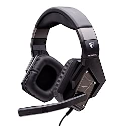 Tesoro Kuven Devil A1 2.0 Virtual 7.1 50 Mm Drivers Noise Isolation In Line Audio Controls Usb / 3.5mm Black Mic Microphone Gaming Headset Ts A1 2.0 Black