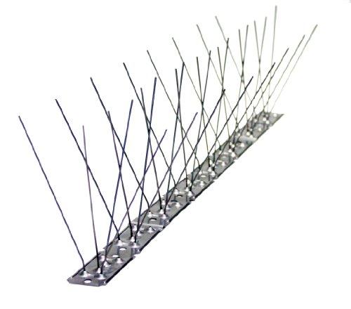 Dissuasori anti piccioni 3 acciaio 10 anni di garanzia 50cm for Dissuasori piccioni amazon