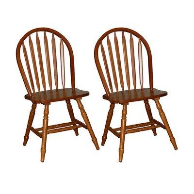 TMS 11848OK Arrowback Chair in Oak