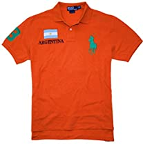 Polo Ralph Lauren Custom-Fit Neon Country Mesh Polo, Argentina, L
