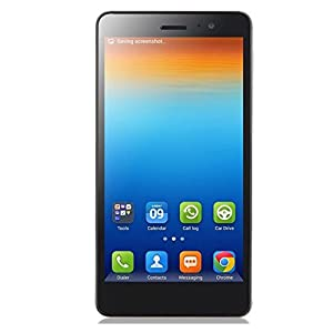 Lenovo S860 Unlocked 5.3 Inch HD IPS Screen Android 4.2 3G Smartphone Phablet 1.3GHz Quad Core MTK6582 Dual SIM Dual Standby GPS Cellphone WIFI WAP Bluetooth Google APPs (Gray)