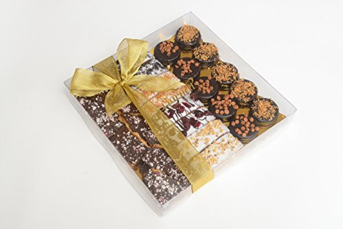 Gourmet Chocolate Biscotti Gift Basket - 3 Type Sampler