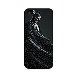 Ebby Lettered Dark Knight Premium Printed Case For Apple iPhone 5/5s