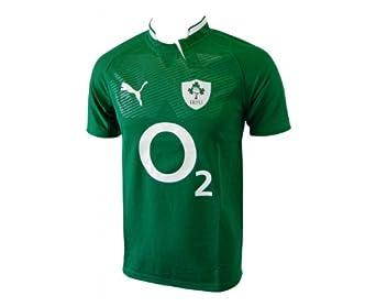 PUMA Ireland 2012/2013 Junior Test Rugby Jersey, Green, 24/26in
