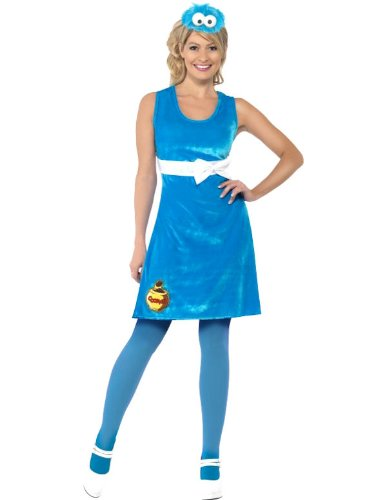 Sesame Street Cookie Monster Fancy Dress Costume (Cute)
