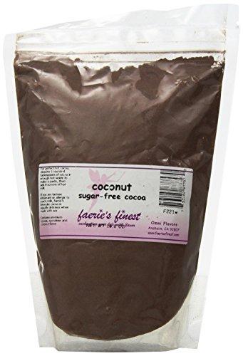 Faeries Finest Sugar-Free Cocoa, Coconut, 16 Ounce