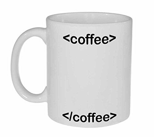 HTML Coffee Funny Computer Programming Mug
