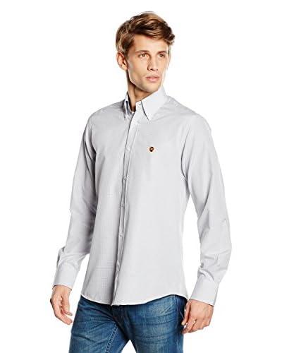POLO CLUB CAPTAIN HORSE ACADEMY Camisa Hombre Gentle Color Trend Gris