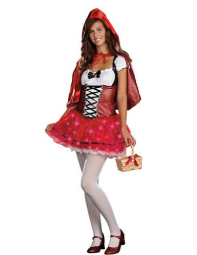Little Red Delight Teen Md Teen Womens Costume