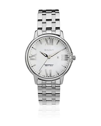 Gant Reloj con movimiento Miyota Brighton W10864 Plateado 38 mm