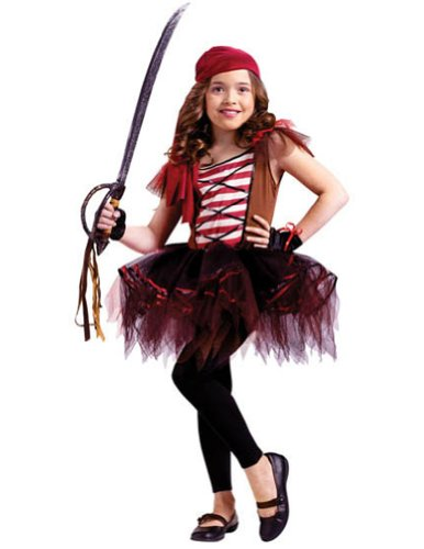 Kids-Costume Batarina Pirate Child 12-14 Halloween Costume - Child 12-14