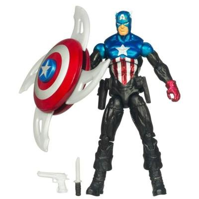 Captain America The First Avenger Comic Series Action Figure - Heroic Age Captain America