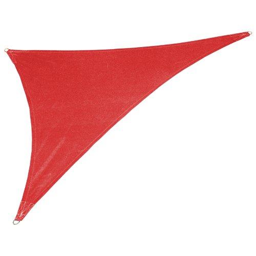 Coolaroo Custom Triangle Shade Sail, Cherry Red,