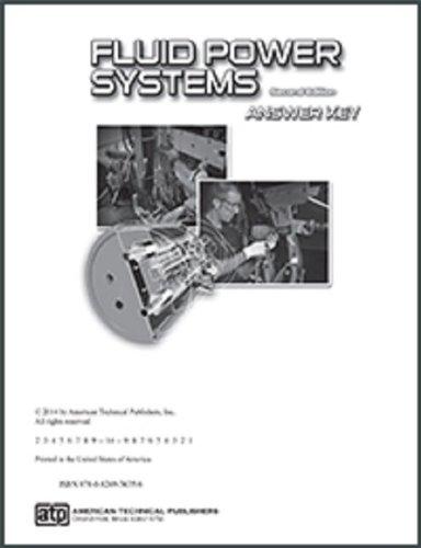 Fluid power systems answer key  slugbooks