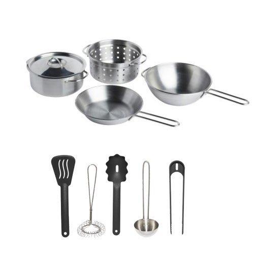 Ikea Duktig Childrens Pretend Play Cooking Kit