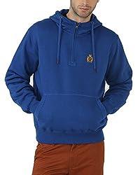 Fahrenheit Men's Fleece Sweat Shirt (8903942218989_Blue_XX-Large)