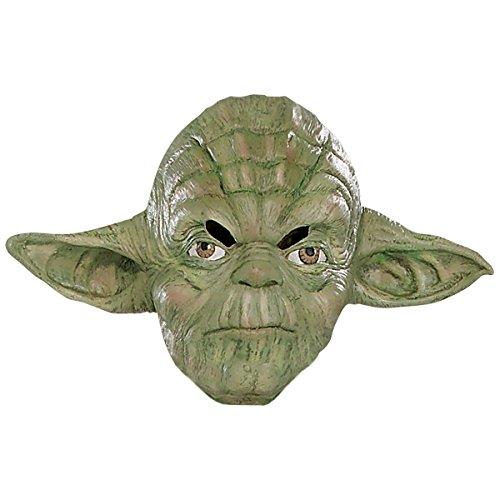 Yoda 3/4 Vinyl Mask Costume Accessory (The Spirit Of Halloween Store Locations)