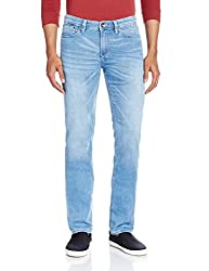 Celio Men's Slim Fit Jeans (3596654341417_DOKLIGHTSLBLEACHED_81_Bleached)