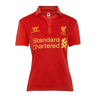 Warrior Liverpool Ladies Home Jersey 12 13 by Warrior