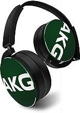 【国内正規品/日本限定カラー】AKG Y50 密閉型オンイヤーヘッドホン DJスタイル グリーン Y50JEGRN