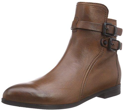 Kennel und Schmenger Schuhmanufaktur Taylor, Stivali classici imbottiti a gamba corta donna, Marrone (Braun (saddle/black)), 38