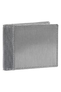 Stewart Stand Stainless Steel Fiber Wallet (Silver)