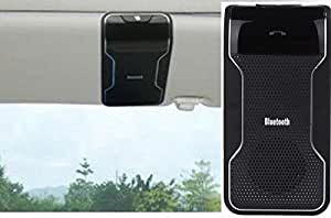 CiDoss Bluetooth Visor Handsfree Speakerphone Car kit for iPhone, Samsung, HTC and all other Cellphones