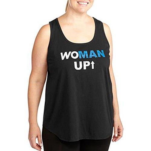 Danskin Womens Plus Size Active Graphic Tank 3x Large