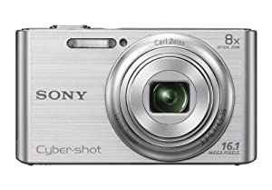 Sony DSC-W730 16.1 MP Digital Camera with 2.7-Inch LCD (Silver)