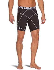 Under Armour Core Prima Short de compression Homme Noir/Noir/Blanc FR : S (Taille Fabricant : SM)