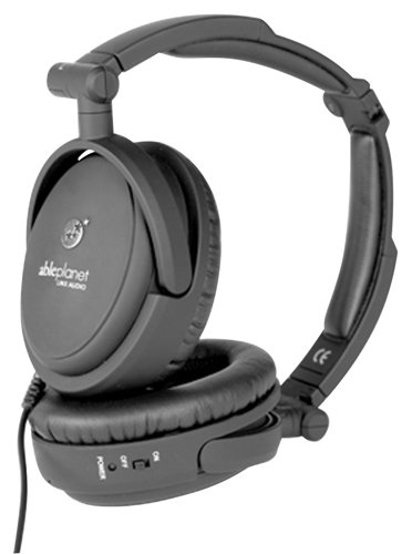 ABLE-PLANET-NC200B-True-Fidelity-Foldable-Active-Noise-Canceling-Headphones-Black-Discontinued-by-Manufacturer