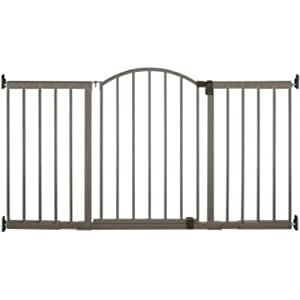 Metal Expansion Gate 6 Foot Wide Extra Tall Walk-Thru