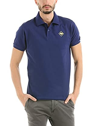 HOT BUTTERED Polo Hb Color (Azul Marino / Amarillo)