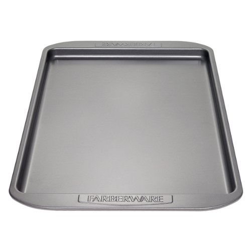 Farberware Nonstick Bakeware 11-Inch x 17-Inch Cookie Pan, Gray (Farberware Nonstick Baking Pans compare prices)