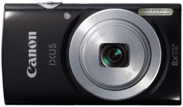 Canon IXUS 145 Digitalkamera (16 Megapixel, 8-fach opt. Zoom, 6,8 cm (2,6 Zoll) LCD-Display, HD-Ready) schwarz