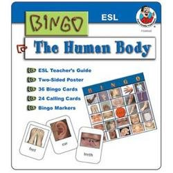 DDI - The Human Body ESL Bingo Game Kit (1 pack of 8 items)