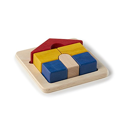 Guidecraft Primary House Puzzle