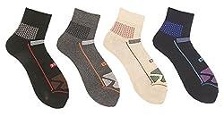 Killer Men's Cotton Socks (Pack of 4 Socks)