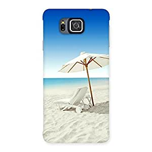 Gorgeous Vaccation Multicolor Back Case Cover for Galaxy Alpha