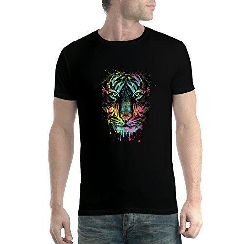 tiger-face-cubism-colourful-men-t-shirt-xs-5xl-new-black-l
