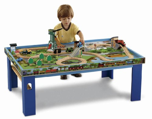 Fisher Price Thomas The Train Wooden Railway Play Table Discontinued By Manufacturer