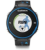 Garmin Forerunner 620 GPS Running Watch - Black/Blue Bundle