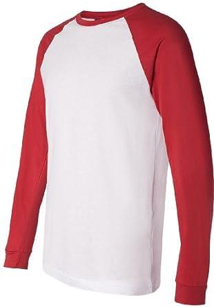 Buy Canvas Mens Hawthorne Baseball T-Shirt by Tri-Mountain