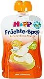 Hipp Banane-Birne-Mango, 6-er Pack (6 x 90 g) - Bio
