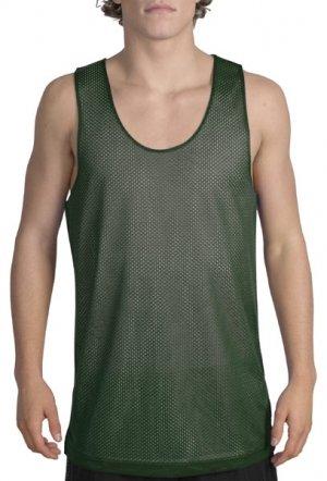 Big mens reversible mesh tank top by sport tek big for Big and tall athletic shirts