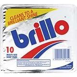 Brillo Multi Use Soap Pads Pack 10 (311691)