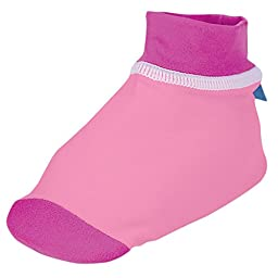 Sun Smarties UPF 50+ Non-Skid Surf Style Sand and Water Socks X-Small Pink