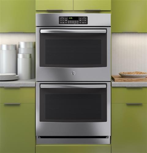 """Ge® Jt3500Sfss 30"""" Built-In Double Wall Oven Stainless Steel """"Out Of Box"""" front-100758"""