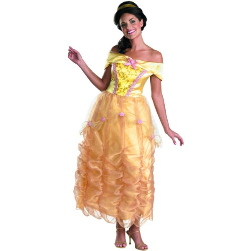 Deluxe Disney Belle Womens Costume - Sizes M-L