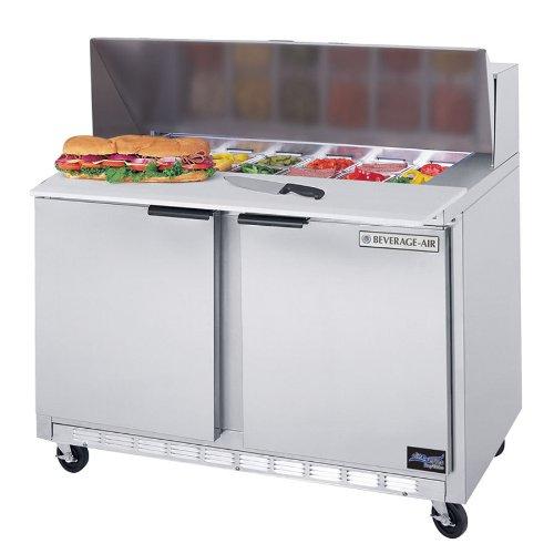 Beverage Air Spe48-12-24 Elite Series Sandwich Top Refrigerated Counter
